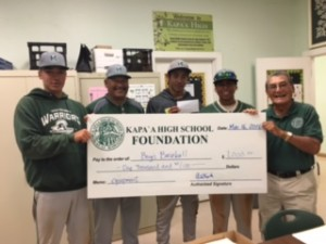 Foundation 2016 Baseball